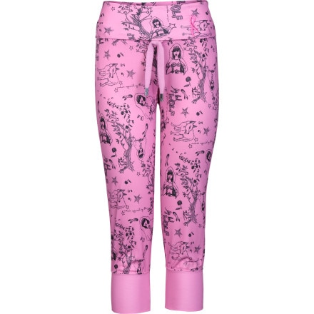 photo: The North Face Slumber Partee Print Capri base layer bottom