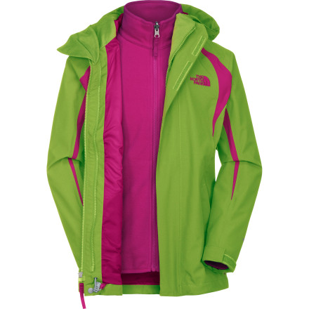 photo: The North Face Mountain View TriClimate Jacket