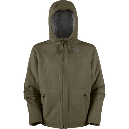 photo: The North Face Evergreen Hoodie fleece jacket