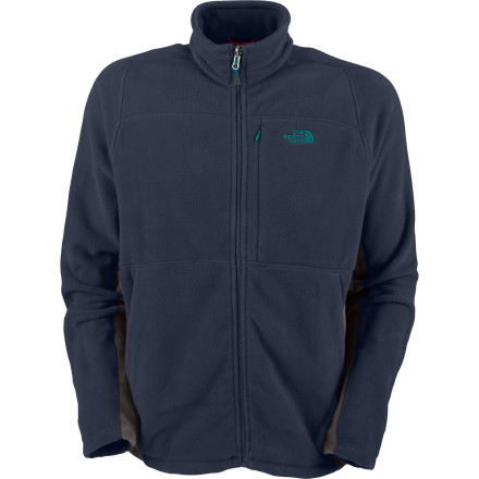 photo: The North Face Men's TKA 200 Full Zip fleece jacket