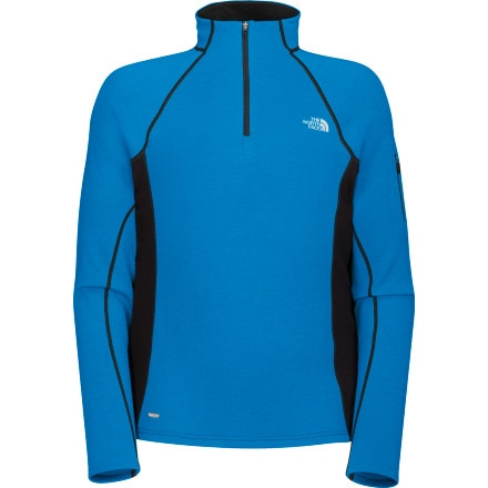 photo: The North Face Aries 1/4 Zip long sleeve performance top