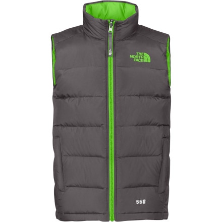 photo: The North Face Boys' Aconcagua Vest down insulated vest