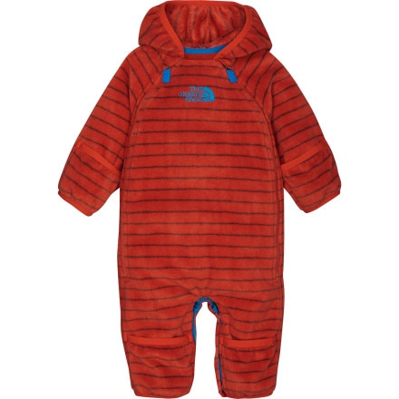 photo: The North Face Boys' Striped Buttery Bunting kids' snowsuit/bunting