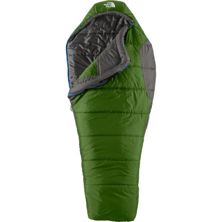 The North Face Aleutian 4S Bx Sleeping Bag: 0 Degree Synthetic
