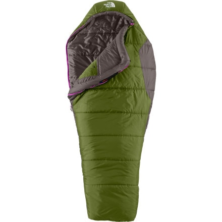 The North Face Aleutian 4S Bx Sleeping Bag: 0 Degree Synthetic - Women's