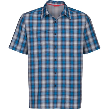 photo: The North Face Millstone Woven hiking shirt