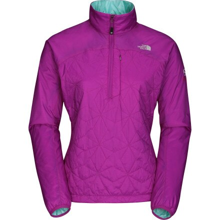photo: The North Face Women's Zephyrus Pullover synthetic insulated jacket