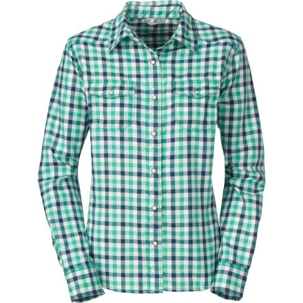 The North Face Violet Flannel Shirt - Long-Sleeve - Women's