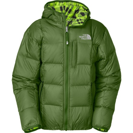 photo: The North Face Reversible Down Moondoggy Jacket