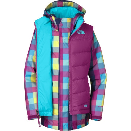 photo: The North Face Girls' Vestamatic Triclimate Jacket