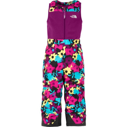 photo: The North Face Girls' Insulated Snowdrift Bib