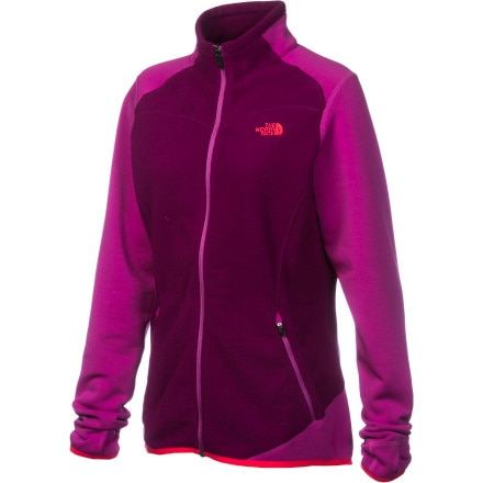 The North Face Jacquard Split Full-Zip Fleece Jacket - Women's