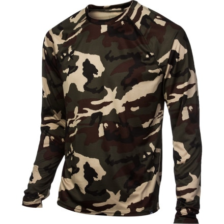 The North Face Skull Horn Camo Crew Top - Men's