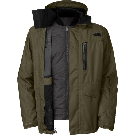 photo: The North Face Houser Triclimate Jacket