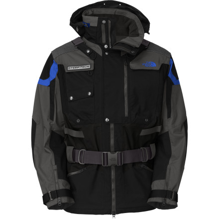 photo: The North Face Steep Tech Transformer Jacket