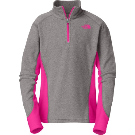 The North Face Glacier Micro 1/4-Zip Fleece Pullover - Girls'