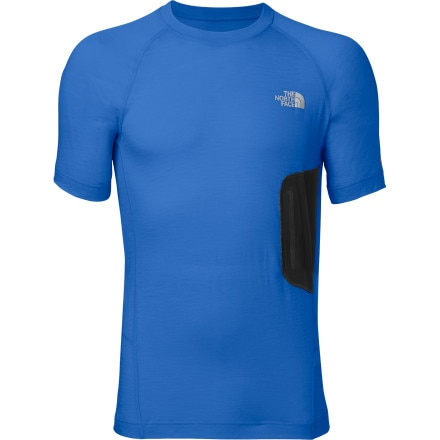 photo: The North Face Men's Short-Sleeve Litho Tee base layer top