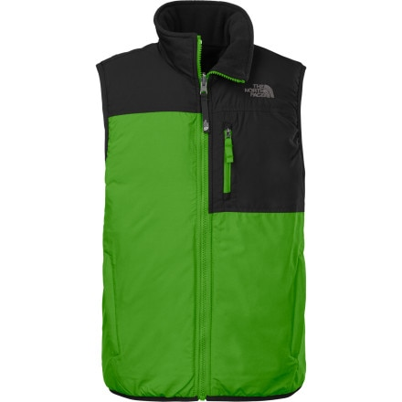 The North Face Insulated Reversible Ledger Vest - Boys'