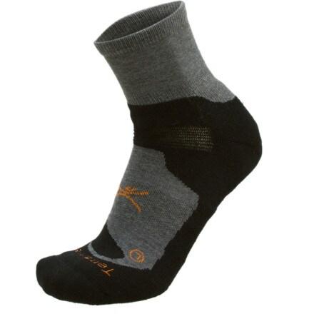 Terramar Quarter Crew Sock