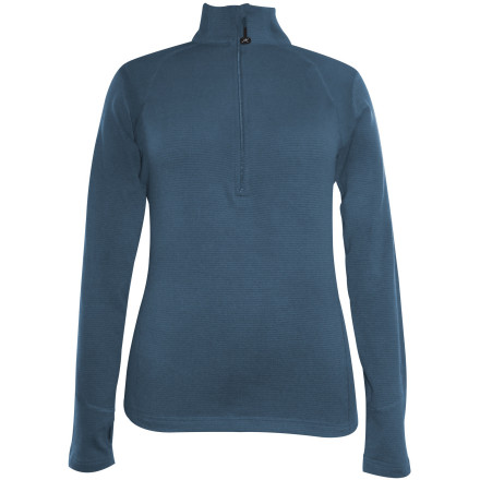 Terramar Grid Fleece 1/2-Zip Top - Women's