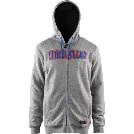 ThirtyTwo Double Up Fleece Full-Zip Hoodie - Men's