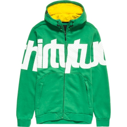 ThirtyTwo Reppin STI Repel Full-Zip Hoodie - Men's