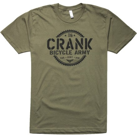 Twin Six Crank Army T-Shirt - Short-Sleeve - Men's