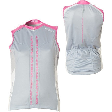 2XU Elite Sublimated Jersey - Sleeveless - Women's