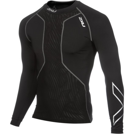 2XU Swim Recovery Men's Long Sleeve Compression Top