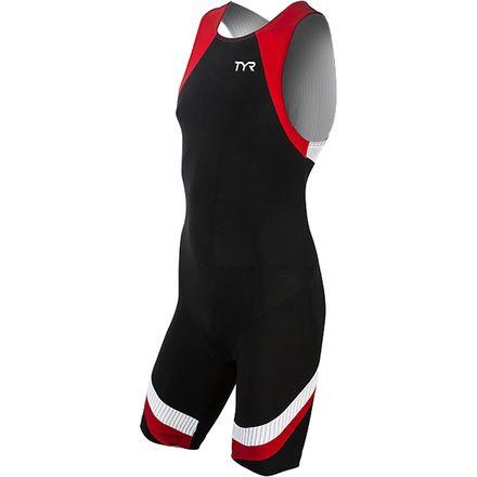 TYR Carbon Zip Back Tri Suit - Men's