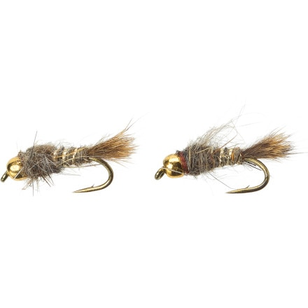 Umpqua Gold Bead Hare's Ear - 2-Pack