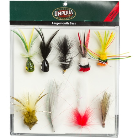 Umpqua Largemouth Bass Selections