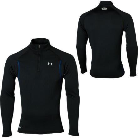 photo: Under Armour ColdGear Base 3.0 1/4 Zip long sleeve performance top