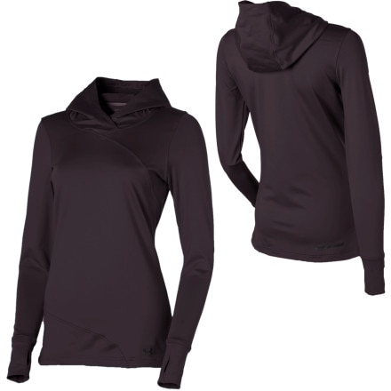 Under Armour EVO Coldgear Hooded Top - Long-Sleeve - Women's