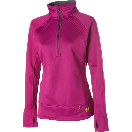 photo: Under Armour Hundo Mointain 1/4-Zip Shirt long sleeve performance top