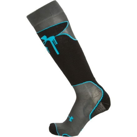 photo: Under Armour Hype Pro Lite Ski Sock snowsport sock