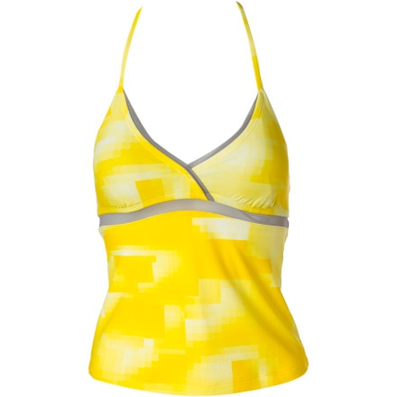 Under Armour Single String Halterkini Bikini Top - Women's