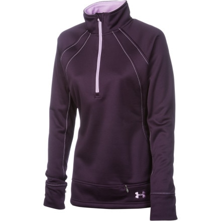 Under Armour Bonded 1/4-Zip Top - Long-Sleeve - Women's