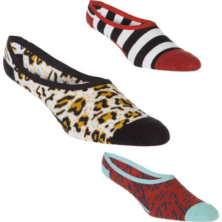 Vans Novelty Canoodle Sock - Women's - 3-Pack