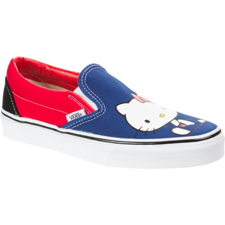 Vans Hello Kitty Classic Slip-On Shoe - Women's