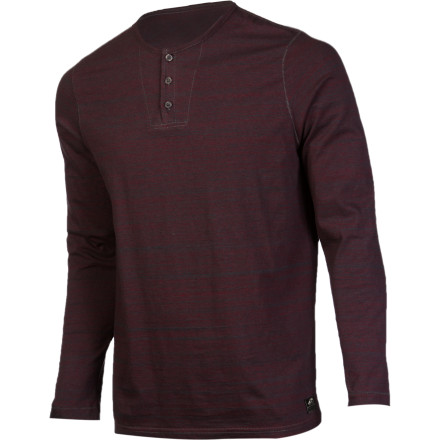 Vans Oldfield Henley Shirt - Long-Sleeve - Men's