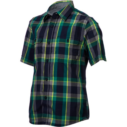 Vans Averill Shirt - Short-Sleeve - Boys'