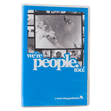 VAS Entertainment We're People Too Snowboard DVD