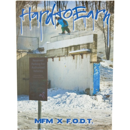 VAS Entertainment Hard To Earn Snowboard DVD by MFM & Friends & Finger On Da Trigger