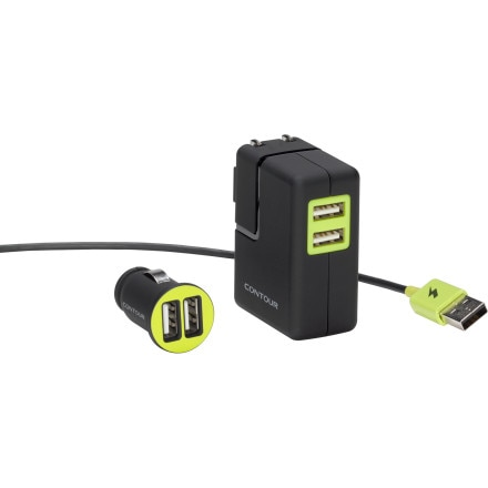 Contour Camera Charge Kit - Wall & Car Charger