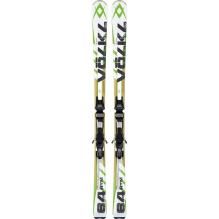 Volkl RTM 84 Ski with IPT Wideride 12.0 D Binding