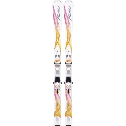 Volkl Charisma Ski with iPT eMotion 11.0 TC Binding - Women's
