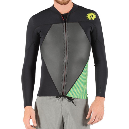 Volcom Stone Zip Rashguard Jacket - Long-Sleeve - Men's