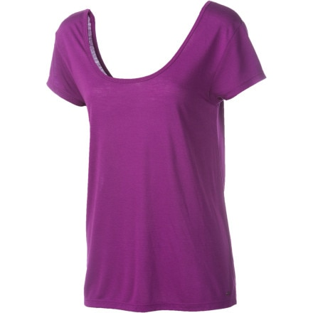 Volcom Stone Splice Scoop Back Top - Short-Sleeve - Women's