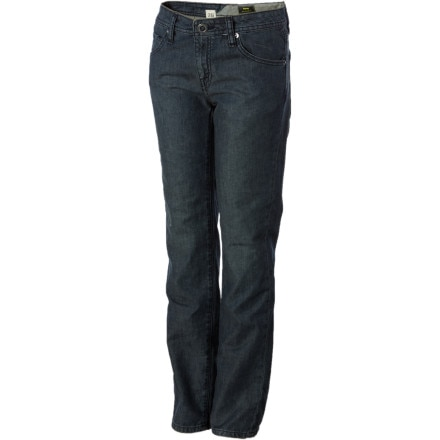 Volcom Vorta Slim Denim Pant - Boys'